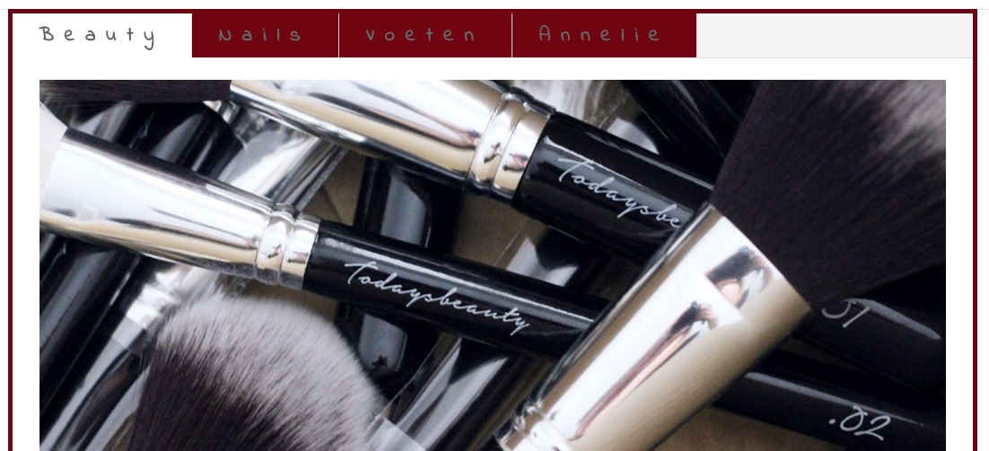 responsive website nagelstudio, annelie wind